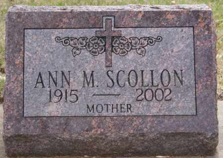 SCOLLON, ANN M. - Minnehaha County, South Dakota | ANN M. SCOLLON - South Dakota Gravestone Photos