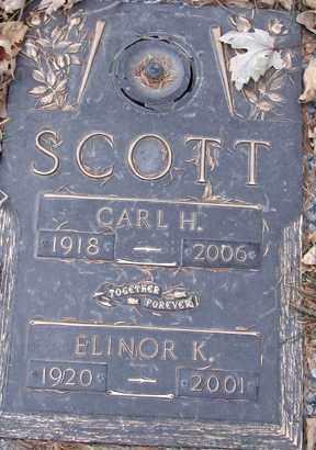 SCOTT, CARL H. - Minnehaha County, South Dakota | CARL H. SCOTT - South Dakota Gravestone Photos