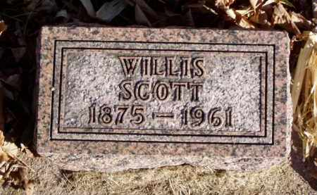 SCOTT, WILLIS - Minnehaha County, South Dakota | WILLIS SCOTT - South Dakota Gravestone Photos