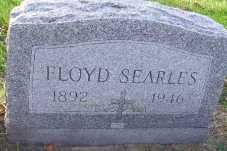 SEARLES, FLOYD - Minnehaha County, South Dakota   FLOYD SEARLES - South Dakota Gravestone Photos
