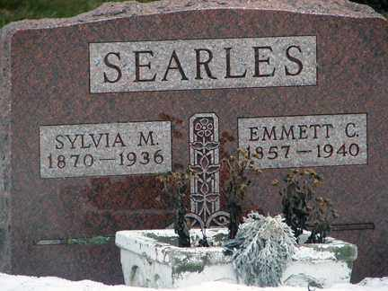 SEARLES, SYLVIA M. - Minnehaha County, South Dakota | SYLVIA M. SEARLES - South Dakota Gravestone Photos