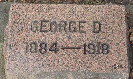 SEARLS, GEORGE D. - Minnehaha County, South Dakota | GEORGE D. SEARLS - South Dakota Gravestone Photos