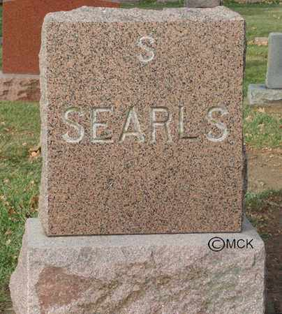 SEARLS, HEADSTONE - Minnehaha County, South Dakota   HEADSTONE SEARLS - South Dakota Gravestone Photos