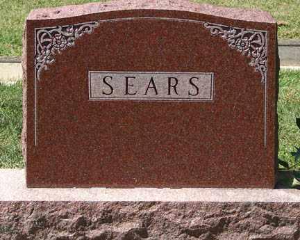 SEARS, FAMILY MARKER - Minnehaha County, South Dakota | FAMILY MARKER SEARS - South Dakota Gravestone Photos