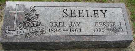 SEELEY, OREL JAY - Minnehaha County, South Dakota | OREL JAY SEELEY - South Dakota Gravestone Photos