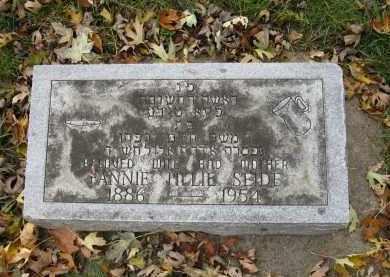 SEIDE, FANNIE TILLIE - Minnehaha County, South Dakota | FANNIE TILLIE SEIDE - South Dakota Gravestone Photos