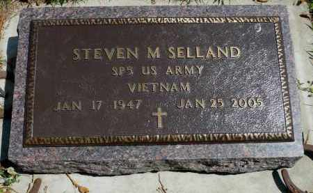 SELLAND, STEVEN M. - Minnehaha County, South Dakota   STEVEN M. SELLAND - South Dakota Gravestone Photos