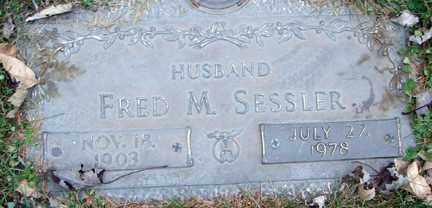 SESSLER, FRED M. - Minnehaha County, South Dakota | FRED M. SESSLER - South Dakota Gravestone Photos