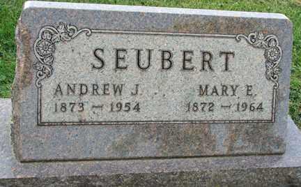SEUBERT, ANDREW J. - Minnehaha County, South Dakota | ANDREW J. SEUBERT - South Dakota Gravestone Photos