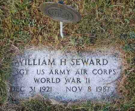 SEWARD, WILLIAM H. - Minnehaha County, South Dakota | WILLIAM H. SEWARD - South Dakota Gravestone Photos