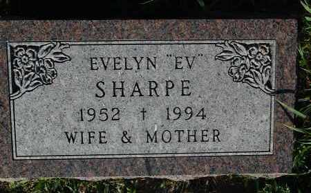 SHARPE, EVELYN - Minnehaha County, South Dakota | EVELYN SHARPE - South Dakota Gravestone Photos