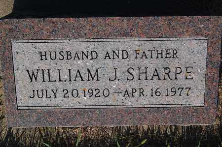 SHARPE, WILLIAM J. - Minnehaha County, South Dakota | WILLIAM J. SHARPE - South Dakota Gravestone Photos