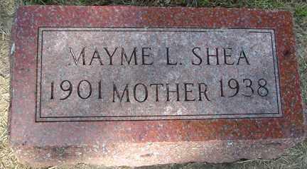 SHEA, MAYME L. - Minnehaha County, South Dakota | MAYME L. SHEA - South Dakota Gravestone Photos