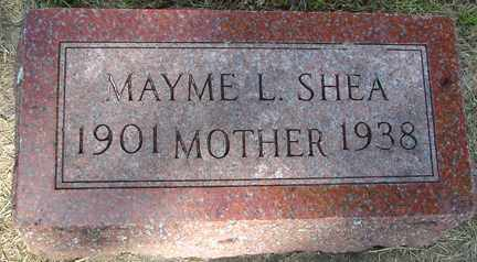 SHEA, MAYME L. - Minnehaha County, South Dakota | MAYME L. SHEA - South Dakota Gravestone Photos