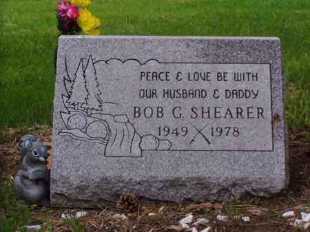 SHEARER, BOB GENE - Minnehaha County, South Dakota | BOB GENE SHEARER - South Dakota Gravestone Photos