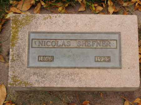 SHEFNER, NICOLAS - Minnehaha County, South Dakota | NICOLAS SHEFNER - South Dakota Gravestone Photos