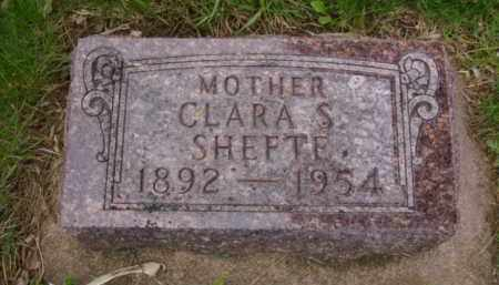 SHEFTE, CLARA SEVERINA - Minnehaha County, South Dakota | CLARA SEVERINA SHEFTE - South Dakota Gravestone Photos
