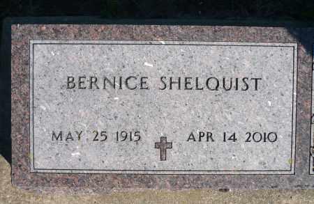 SHELQUIST, BERNICE - Minnehaha County, South Dakota | BERNICE SHELQUIST - South Dakota Gravestone Photos