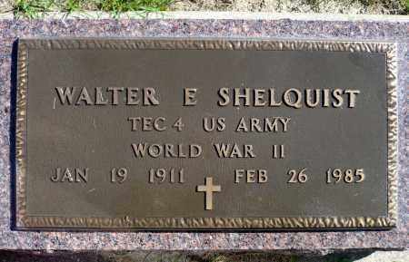SHELQUIST, WALTER E. (WWII) - Minnehaha County, South Dakota | WALTER E. (WWII) SHELQUIST - South Dakota Gravestone Photos