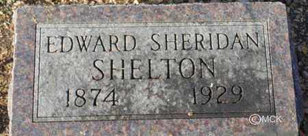 SHELTON, EDWARD SHERIDAN - Minnehaha County, South Dakota   EDWARD SHERIDAN SHELTON - South Dakota Gravestone Photos