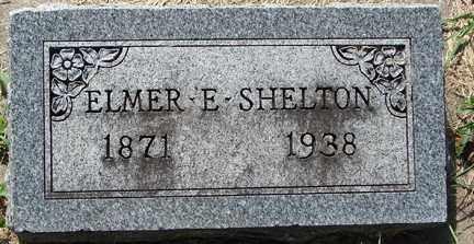 SHELTON, ELMER E. - Minnehaha County, South Dakota | ELMER E. SHELTON - South Dakota Gravestone Photos