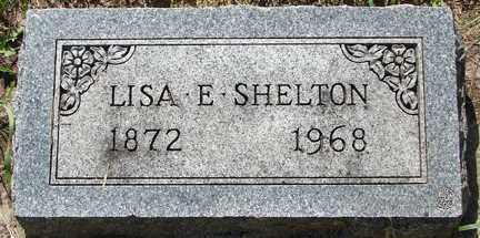 SHELTON, LISA E. - Minnehaha County, South Dakota | LISA E. SHELTON - South Dakota Gravestone Photos