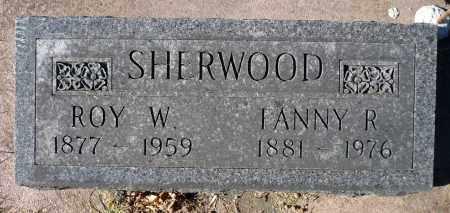 PAGE SHERWOOD, FANNY RICHARDSON - Minnehaha County, South Dakota | FANNY RICHARDSON PAGE SHERWOOD - South Dakota Gravestone Photos