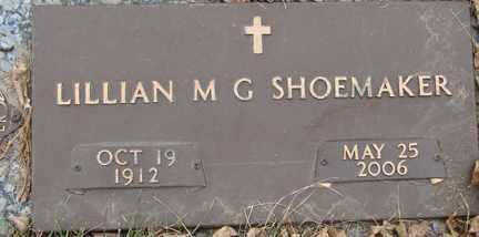 SHOEMAKER, LILLIAN - Minnehaha County, South Dakota | LILLIAN SHOEMAKER - South Dakota Gravestone Photos