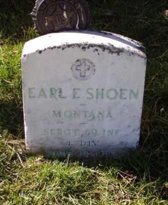 SHOEN, EARL E. - Minnehaha County, South Dakota   EARL E. SHOEN - South Dakota Gravestone Photos