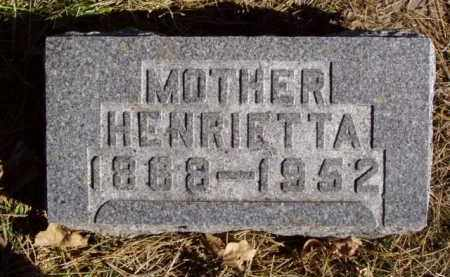 SHOEN, HENRIETTA - Minnehaha County, South Dakota | HENRIETTA SHOEN - South Dakota Gravestone Photos