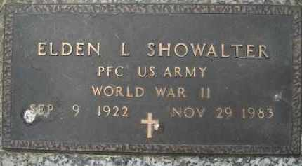 SHOWALTER, ELDON LEROY - Minnehaha County, South Dakota | ELDON LEROY SHOWALTER - South Dakota Gravestone Photos