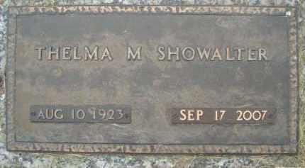 SHOWALTER, THELMA MARGAT - Minnehaha County, South Dakota | THELMA MARGAT SHOWALTER - South Dakota Gravestone Photos