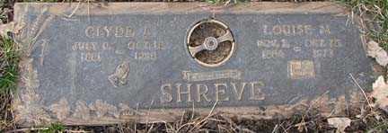 SHREVE, CLYDE ARTHUR - Minnehaha County, South Dakota | CLYDE ARTHUR SHREVE - South Dakota Gravestone Photos