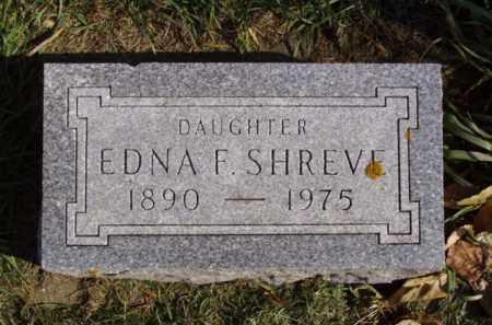 SHREVE, EDNA F. - Minnehaha County, South Dakota | EDNA F. SHREVE - South Dakota Gravestone Photos