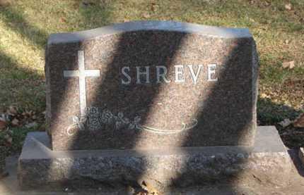 SHREVE, FAMILY MARKER - Minnehaha County, South Dakota | FAMILY MARKER SHREVE - South Dakota Gravestone Photos