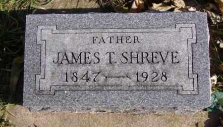 SHREVE, JAMES T. - Minnehaha County, South Dakota   JAMES T. SHREVE - South Dakota Gravestone Photos