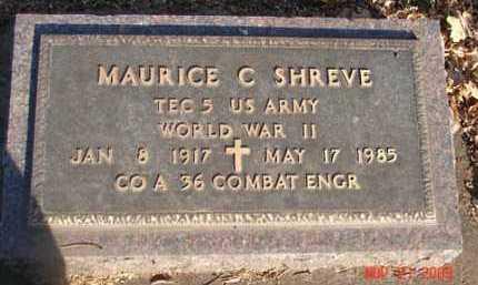 SHREVE, MAURICE C. - Minnehaha County, South Dakota | MAURICE C. SHREVE - South Dakota Gravestone Photos