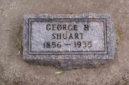 SHUART, GEORGE H. - Minnehaha County, South Dakota | GEORGE H. SHUART - South Dakota Gravestone Photos