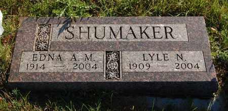 SHUMAKER, LYLE N. - Minnehaha County, South Dakota   LYLE N. SHUMAKER - South Dakota Gravestone Photos