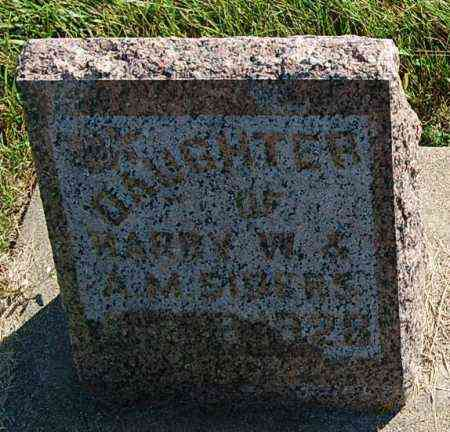 SIDERS, INFANT DAUGHTER - Minnehaha County, South Dakota | INFANT DAUGHTER SIDERS - South Dakota Gravestone Photos