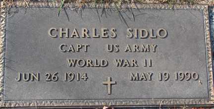 SIDLO, CHARLES (WWII) - Minnehaha County, South Dakota | CHARLES (WWII) SIDLO - South Dakota Gravestone Photos