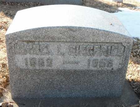 CAMPBELL SIEGFRIED, MABEL LOUISE - Minnehaha County, South Dakota | MABEL LOUISE CAMPBELL SIEGFRIED - South Dakota Gravestone Photos