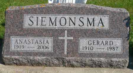 SIEMONSMA, GERARD - Minnehaha County, South Dakota | GERARD SIEMONSMA - South Dakota Gravestone Photos