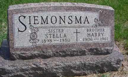 SIEMONSMA, HARRY - Minnehaha County, South Dakota   HARRY SIEMONSMA - South Dakota Gravestone Photos