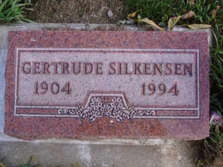 SILKENSEN, GERTRUDE - Minnehaha County, South Dakota   GERTRUDE SILKENSEN - South Dakota Gravestone Photos