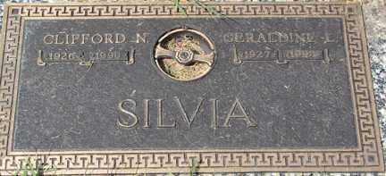 SILVA, CLIFFORD N. - Minnehaha County, South Dakota | CLIFFORD N. SILVA - South Dakota Gravestone Photos