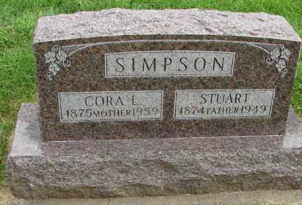 SIMPSON, STUART - Minnehaha County, South Dakota | STUART SIMPSON - South Dakota Gravestone Photos