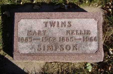 SIMPSON, MARY LYON - Minnehaha County, South Dakota | MARY LYON SIMPSON - South Dakota Gravestone Photos