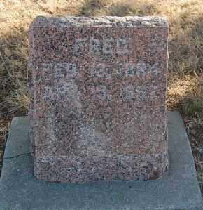 SISSON, FRED - Minnehaha County, South Dakota | FRED SISSON - South Dakota Gravestone Photos