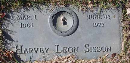 SISSON, HARVEY LEON - Minnehaha County, South Dakota | HARVEY LEON SISSON - South Dakota Gravestone Photos